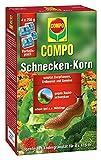 COMPOSchnecken-Korn, Streugranulat gegen Nacktschnecken zur Anwendung im Freiland und Gewächshaus, 4 x 250 g Vorteilspack