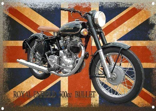 Royal Enfield Bullet Motorrad Metall Royal Metall