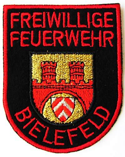 Freiwillige Feuerwehr - Bielefeld - Ärmelabzeichen - Abzeichen - Aufnäher - Patch - Motiv 1