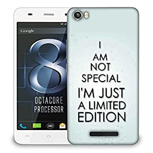 Snoogg I M Not Saying Quote Designer Protective Phone Back Case Cover For LAVA IRIS X8