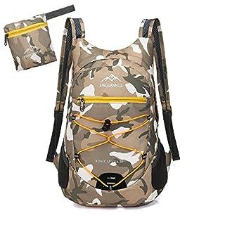Shengchu Hiking Backpack Lightweight Foldable Travel Bag Daypack (Camouflage 1#)