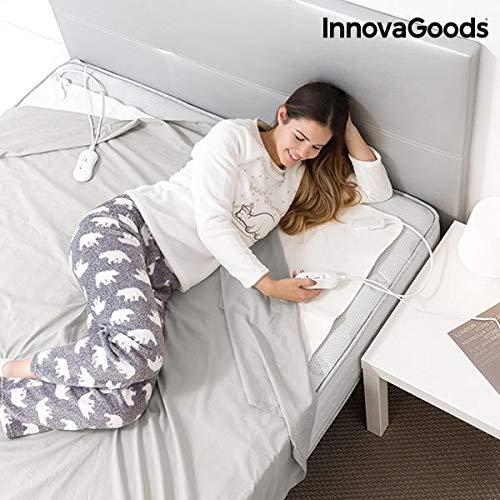 innovagoods elektrischen ig114673Wärmeunterbett, Doppelt, 60W