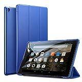 ESR Hülle Fire HD 10 Tablet(7th Gen,2017 Modell)-Ultra Dünn Schutzhülle Tasche mit Standfunktion und Auto Aufwachen/Schlaf Funktion für All-New Amazon Fire HD 10 Zoll Tablette, Marineblau