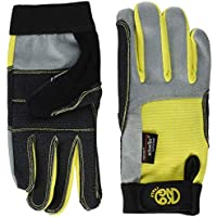 Kong - Full Gloves, Color Yellow, Talla M-L