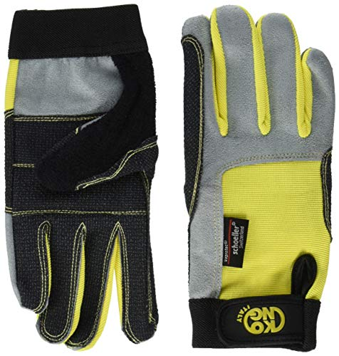 Kong - Full Gloves, Color Yellow, Talla L