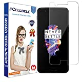 CELLBELL® Tempered Glass Screen Protector For OnePlus 5 With FREE Installation Kit
