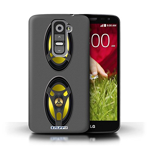 Kobalt® Imprimé Etui / Coque pour LG G2 Mini/D620 / Autoradio conception / Série Haut-Parleur dessin Autoradio