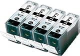 Metro Market 4 Stücke Kompatible Patronen Ersatz für Canon BCI-6 Tintenpatronen Hohe Kapazität für Canon Pixma iP3000 iP4000 iP4000R iP5000 iP8500