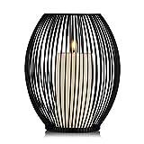 Moderner einfacher Eisenkerzenstand, romantische Hochzeit kreative Kerzenständer, romantisches Abendessen Haus Deko (19cm×24cm)