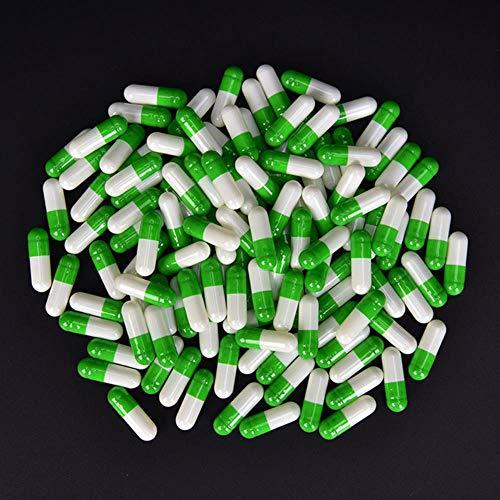 1000 Stücke Multicolor Leere Kapseln Pille Gel Separated Box Medizin Pille Delicate Box Flasche Kapselförmige Smart Pill Box, 3 -