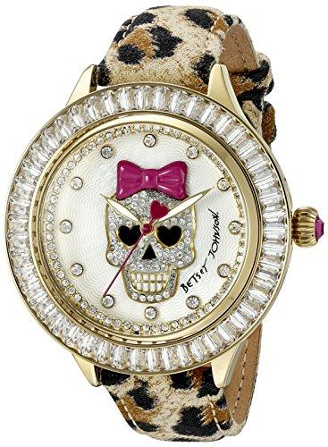 betsey-johnson-da-donna-bj00358-13-multicolore-e-display-analogico-al-quarzo-orologio