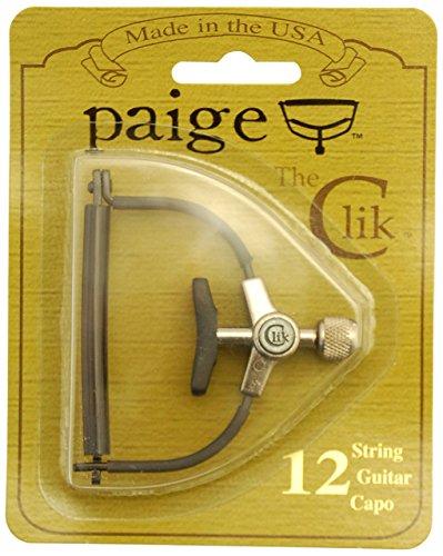 PAIGE PC 12 CLIK CAPO  12 STRING / CEJILLA PARA GUITARRA ACUSTICA