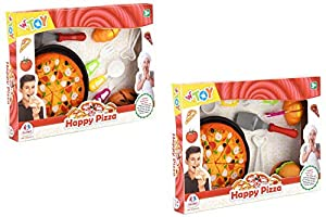 GLOBO- Pizza W/Accessories W/Velcro 2Asst (39049), (1)