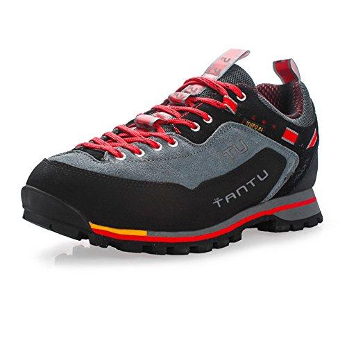Showlovein Herren Outdoor Schuhe Trekking & Hiking Shoes, Graun, 42 EU