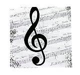 Servietten I love Music im Used-Look - Schönes Geschenk für Musiker