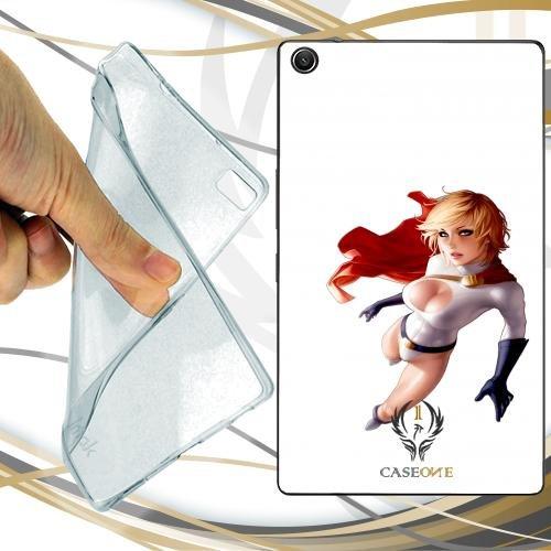CUSTODIA COVER CASE POWER GIRL PER ASUS ZENPAD 10 Z300C 10 Power Girl
