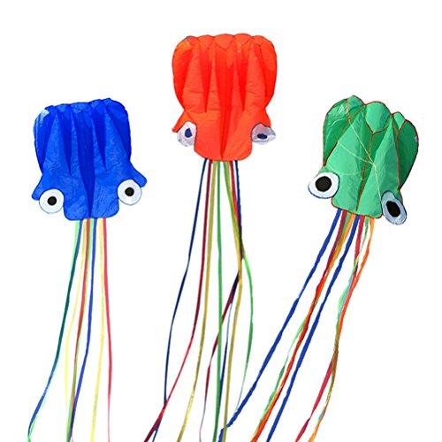LIOOBO Kinder Kite Large Easy Flyer Einfach zu starten bei steifem Wind oder weicher Brise Ideal für Kinder und Erwachsene mit Einem Anschluss - Kite Flyer