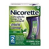 #2: Nicorette Mini Lozenge (2 mg) 81-Count Package