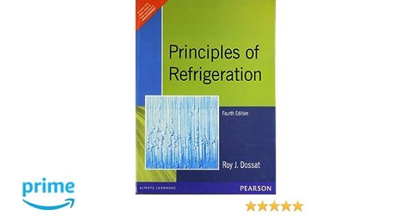 Pdf principles roy of j.dossat by refrigeration