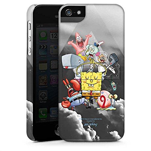 Apple iPhone X Silikon Hülle Case Schutzhülle Spongebob Fanartikel Merchandise Spongebob Crew Premium Case StandUp