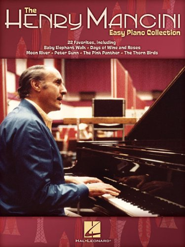 The henry mancini easy piano collection piano