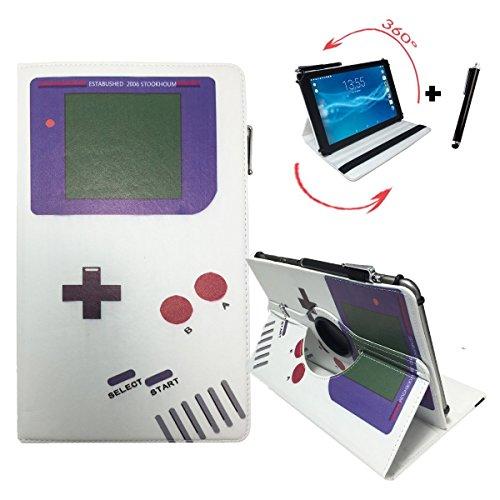 Case Tasche für CHUWI Hi 10 Pro 2 in 1 ultrabook Tablet PC Schutz Hülle Etui + Touch Pen - 10.1 Zoll Game Boy 360°
