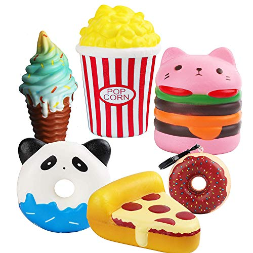Gags & Practical Jokes 30pcs Diy Soft Funny Squeeze Slow Rising Squeeze Toast Cake Bread Panda Ice Cream Cell Phone Straps Toy Phone Decoration Pleasant In After-Taste