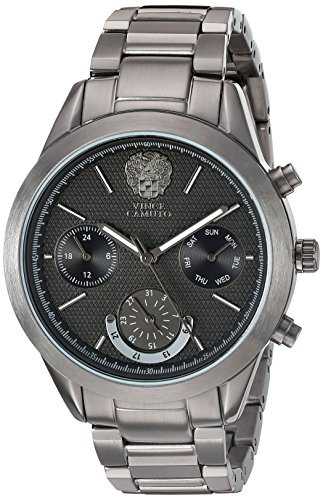 vince-camuto-womens-quartz-watch-with-black-dial-analogue-display-and-grey-stainless-steel-bracelet-