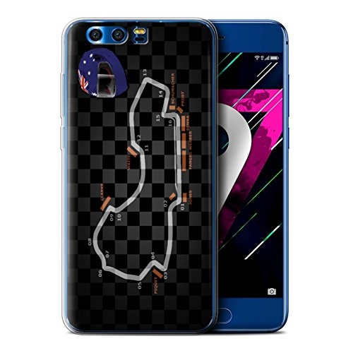 Stuff4® Phone Case/Cover/Skin/hua-gc/F1-Kollektion Australia/Melbourne Huawei Honor 9