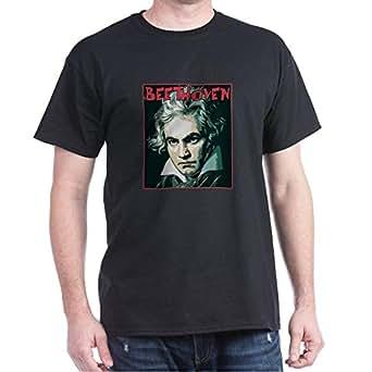 CafePress - Beethoven - Dark T-Shirt