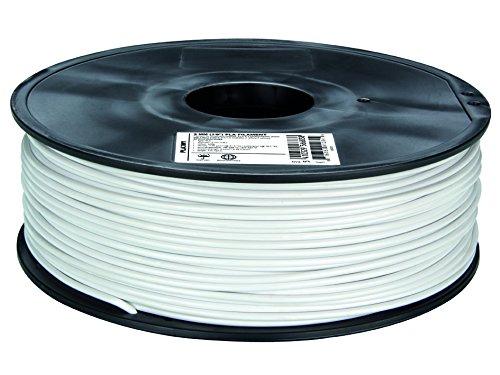 Fil pour imprimante 3D plastique PLA Ø 3 mm blanc Velleman PLA3W1