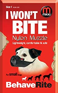 Mikki Muselière de dressage pour chien Taille 1