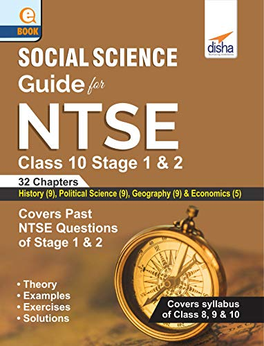 Social Science Guide for NTSE Class 10 Stage 1 & 2 (English ...