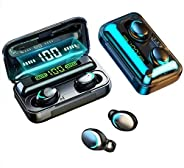 F9-5 8D HiFi Stereo True Wireless Earbuds with HD Mic, Extraordinary Bass Music and Battery Life, IPX7 Waterpr