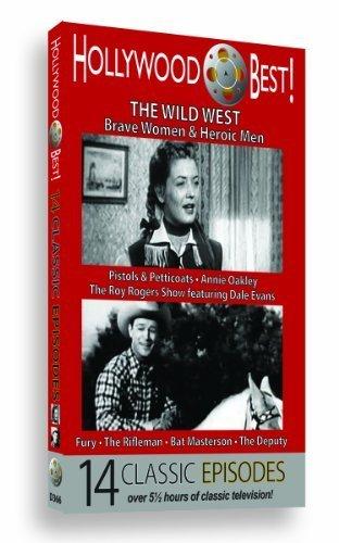 Preisvergleich Produktbild Hollywood Best! The Wild West: Brave Women & Heroic Men - 14 Classic Episodes! by Roy Rogers