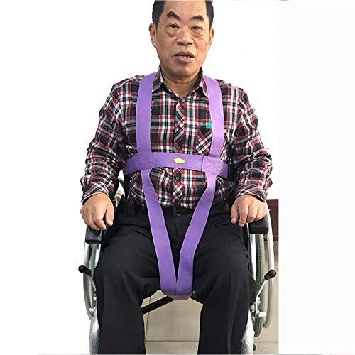 Rollstuhl-Sicherheitsgurte, einstellbar Rollstuhl-Sicherheitsgurtband Anti-Rutsch-Positionierband mit Schnallen für ältere Bettpflege