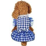 Hawkimin Haustier T-Shirt, Sommer Frühlings Einfach Bequem Netto Farbe Polo Shirt Hündchen Katze Weste Hemd Kleines Kleidet Kostüm Welpe Bekleidung