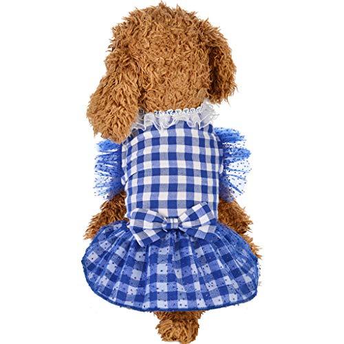 Für Einfache Katzen Kostüm - Hawkimin Haustier T-Shirt, Sommer Frühlings Einfach Bequem Netto Farbe Polo Shirt Hündchen Katze Weste Hemd Kleines Kleidet Kostüm Welpe Bekleidung