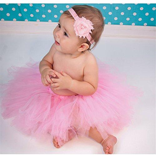 HENGSONG Neugeborenes Baby Rock Tutu Kleidung Trikot Kostüm Foto Prop Outfits Bekleidung Set ()