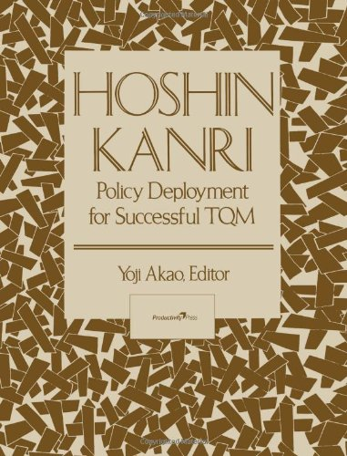 Hoshin Kanri: Policy Deployment for Successful TQM