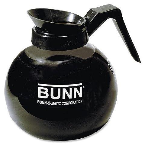 Bunn - 12-cup Decanter, Regular, Clear/black Handle (3) by Bunn (Bunn Decanter)