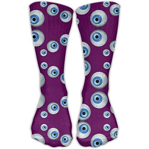 Monster Eyeball Printed Men's/Women's 11.8 Inch Ankle Crew Socks ()