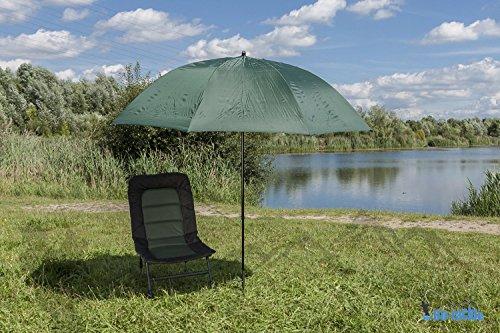 DD-Tackle XL 2,30m Angelschirm Anglerschirm Schirmzelt Schirm Regenschirm Brolly Karpfen