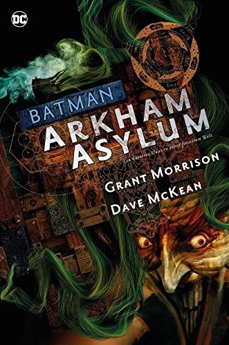 Batman Deluxe: Arkham Asylum: Ein düsteres Haus in einer finsteren Welt -