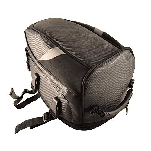Bolsa de sillín impermeable al agua, haodene multifuncional caja de bicicleta trasera de bolsa de moto Tank Bag para montaña, Waters, ciclismo, senderismo 6890