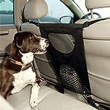 Hundebarriere, Legendog Haustier Barriere Sehen Durch Netz Hund Auto Rücksitz Barriere