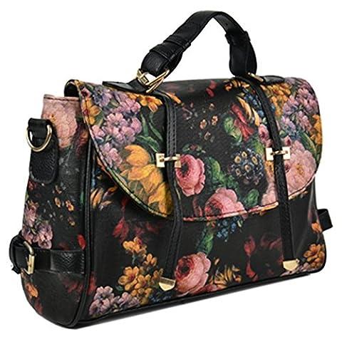 Stream Women Painting Celebrity Vintage Pattern Single Shoulder Bag Handbag Tote Purse Bag