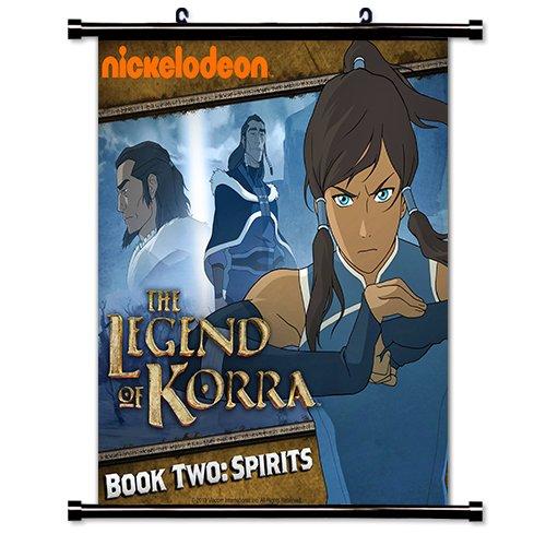 Avatar Legend of Korra The Wall Scroll Poster (32 x 33 - Avatar Lego