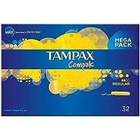 Tampax Compak Applikator Tampons Regular (32) - Packung mit 2 preisvergleich bei billige-tabletten.eu