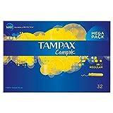 Tampax centraline Parcours tampons Applicateur Régulier (32) (Lot de 2)